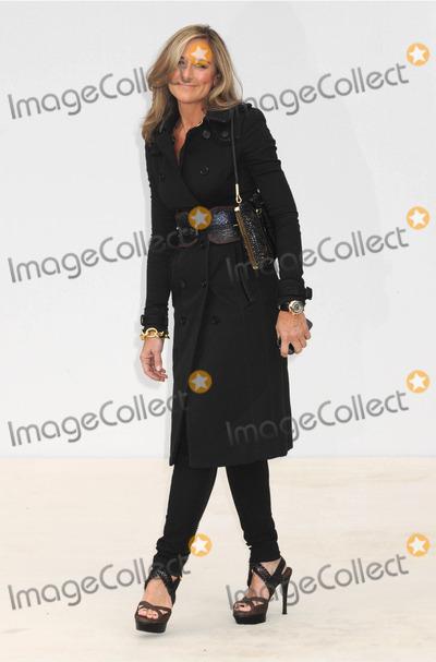 ANGELA AHRENDTS Photo - London UK Angela Ahrendts at the Burberry Prorsum SS Show Arrivals during The BFC London Fashion Week held at Kensington Gardens 19th September 2011Matt LewisLandmark Media