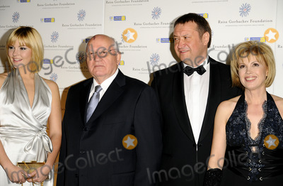 ANASTASIA BIRGANSKAYA Photo - London UK Anastasia Birganskaya Mikhail Gorbachev and Xenia Gorbachev at the Raisa Gorbachev Foundations 3rd Annual Gala Dinner at the Stud House Hampton Court Palace07 June 2008      Can NguyenLandmark Media