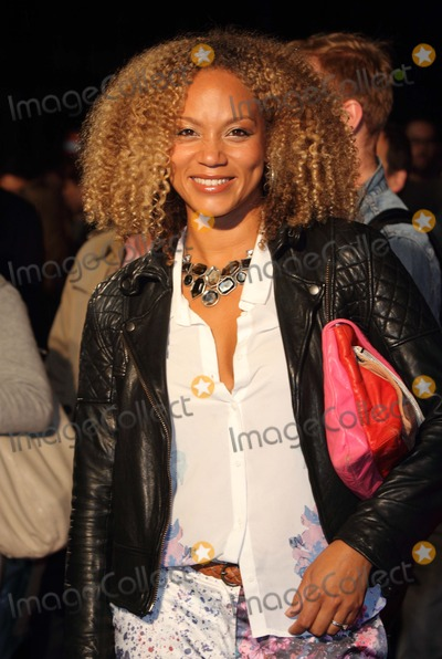 Angela Griffin Photo - London UK  Angela Griffin   at the BFI London Film Festival screening of Spike Island  Odeon West End London  11th October 2012  Keith MayhewLandmark Media