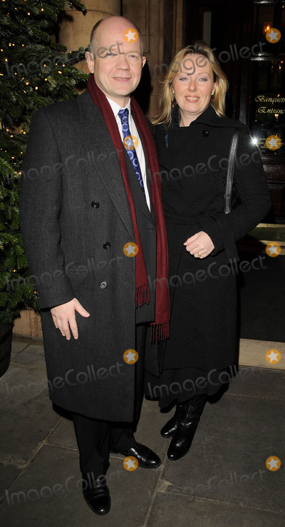 Christopher Biggins Photo - London UK William Hague and Ffion Hague at the Christopher Biggins 60th Birthday party held at the Landmark Hotel in London 15th December 2008Ref LMK315-Can NguyenLandmark Media