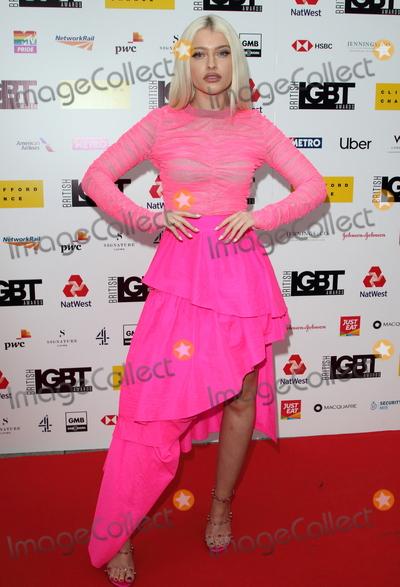 Alice Chater Photo - London UK  Alice Chater  at the British LGBT Awards at the London Marriott Hotel Grosvenor Square London 17th May 2019RefLMK73-S2445-180519Keith MayhewLandmark Media WWWLMKMEDIACOM