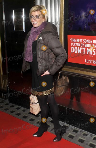 Caroline Feraday Photo - London UK Caroline Feraday at the Let It Be Gala Night at the Savoy Theatre The Strand 13th February 2013Keith MayhewLandmark Media