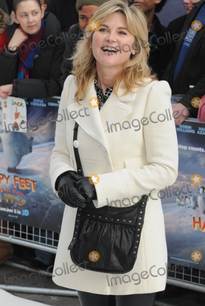 Anthea Turner Photo - London UK Anthea Turner at the European Premiere of Happy Feet Two held at the Empire Leicester Square 20th November 2011Matt LewisLandmark Media