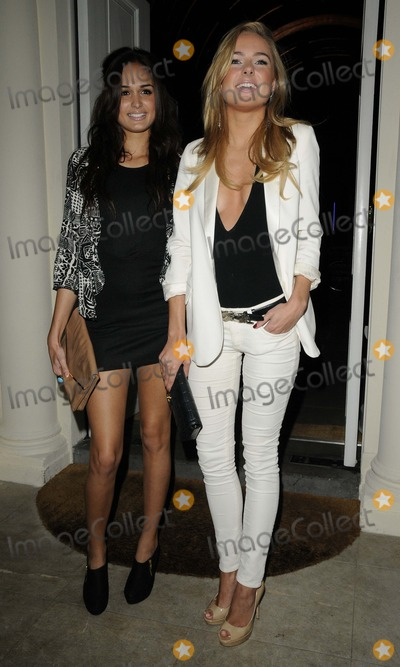 Anita Kaushik Photo - London UK  Anita Kaushik  Kimberley Garner   at the Tara Smith Haircare launch party held at Sketch in Mayfair 26 September 2012Can NguyenLandmark Media