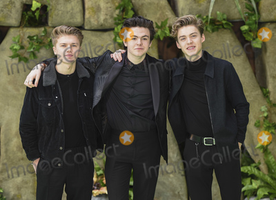 George Smith Photo - London England 140118George Smith Blake Richardson and Reece Bibby of New Hope Club  at the Early Man World Premiere held at BFI IMAX 14 January 2017Ref LMK386-MB1114-140118Gary Mitchell  Landmark MediaWWWLMKMEDIACOM