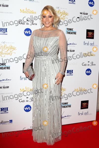 Amelia Lily Photo - LondonUK Amelia Lily at the Whatsonstage Theatre Awards at the Prince of Wales Theatre London on 21st February  2016 Ref LMK73-60230-220216Keith MayhewLandmark Media WWWLMKMEDIACOM