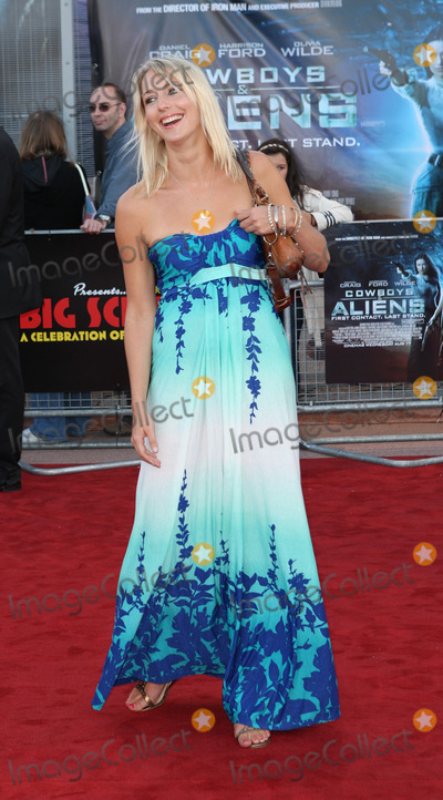 Ali Bastian Photo - London UK Ali Bastian  at the UK Premiere of Cowboys  Aliens at The O2 North Greenwich London 11th August 2011 Evil ImagesLandmark Media