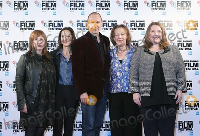 Abi Morgan Photo - London UK  171013Abi Morgan Gabrielle Tana Ralf Fiennes Claire Tomalin and Joanna Scanlan at the BFI London Film Festival Photocall for The Invisible Woman held at the Mayfair Hotel17 October 2013Ref LMK12-45575-171013J AdamsLandmark MediaWWWLMKMEDIACOM