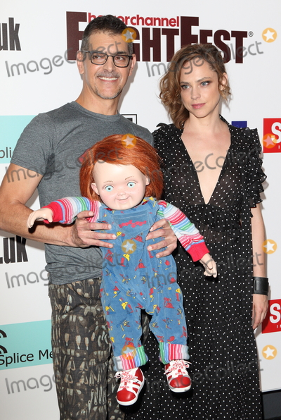 Chucky Photo - LondonUK Don Mancini and Fiona Dourif (with a Chucky Doll)   at  FrightFest Cult Of Chucky Opening Gala at the Cineworld Empire Leicester Square 24th August  2017RefLMK73-S621-250817Keith MayhewLandmark MediaWWWLMKMEDIACOM