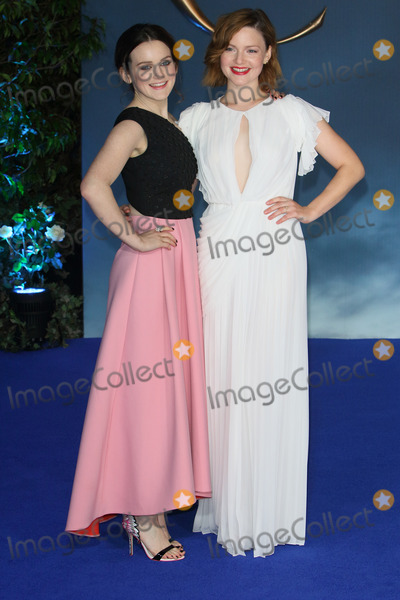 Cinderella Photo - London UK Sophie McShera and Holliday Grainger at the UK Premiere of Cinderella at Odeon Leicester Square London on March 19th 2015Ref LMK73-50753-200315Keith MayhewLandmark Media WWWLMKMEDIACOM