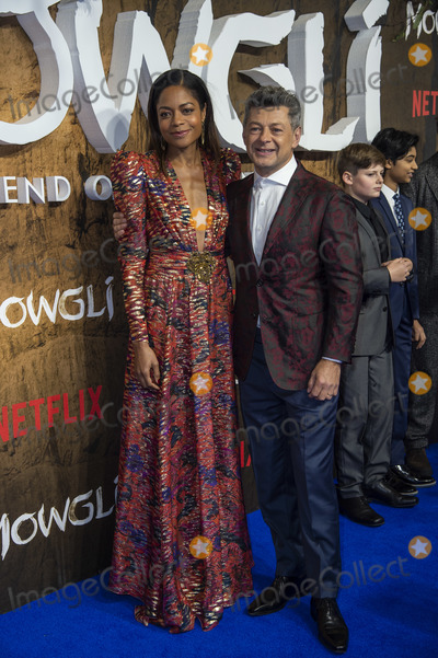 Andy Serkis Photo - London UK Naomie Harris and Andy Serkis  at a special screening of Netflixs Mowgli Legend Of The Jungle at The Curzon Mayfair on December 4 2018 in London EnglandRef LMK386-J3078-051218Gary MitchellLandmark MediaWWWLMKMEDIACOM