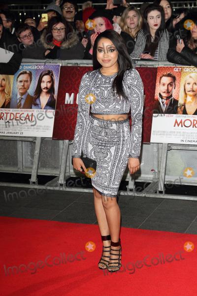 Dionne Bromfield Photo - London UK Dionne Bromfield at Mortdecai UK Film Premiere at the Empire Leicester Square London on January 19th 2015 Ref LMK73-50448-200115Keith MayhewLandmark Media WWWLMKMEDIACOM