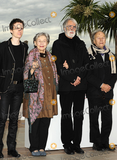 Jean-Louis Trintignant Photo - CannesFrance    Alexandre Tharaud  Emmanuelle Riva Michael Haneke and Jean-Louis Trintignant  at the photocall for Amour 65th Cannes Film Festival 20th May 2012  SYDLandmark Media