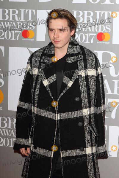 Brooklyn Beckham Photo - London UK Brooklyn Beckham at The BRIT Awards 2017 at The O2 Peninsula Square London on February 22nd 2017Ref LMK73-63022-230217Keith MayhewLandmark MediaWWWLMKMEDIACOM