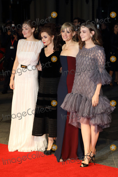 Anne-Marie Duff Photo - London UK Romola Garai Helena Bonham-Carter Anne Marie Duff and Carey Mulligan at the London Film Festival 2015 Opening Gala Suffragette Premiere at Odeon Leicester Square London on October 7th 2015Ref LMK73-58341-081015Keith MayhewLandmark Media WWWLMKMEDIACOM