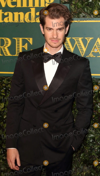 Andrew Garfield Photo - London UK Andrew Garfield at London Evening Standard Theatre Awards at the Theatre Royal Drury Lane Catherine Street London on Sunday 3rd December 2017Ref LMK73-J1239-041217Keith MayhewLandmark MediaWWWLMKMEDIACOM