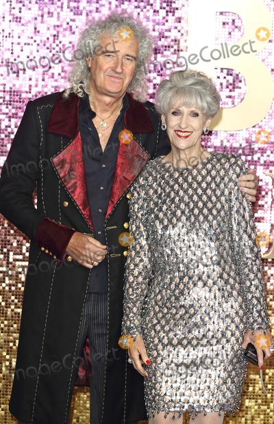 Anita Dobson Photo - London UK Brian May and Anita Dobson at Bohemian Rhapsody UK Premiere at the SSE Arena Wembley London on Tuesday 23 October 2018Ref LMK73-J2846-241018Keith MayhewLandmark MediaWWWLMKMEDIACOM