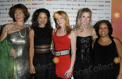 Celia Imrie Photo - London UK  300911Myfanwy Waring Celia Imrie Elspeth Brodie Sadie Pickering and Shobu Kapoor at the Act Of Godfrey UK premiere held at the Apollo  Piccadilly Circus cinema Lower Regent St30 September 2011Can Nguyen Landmark Media