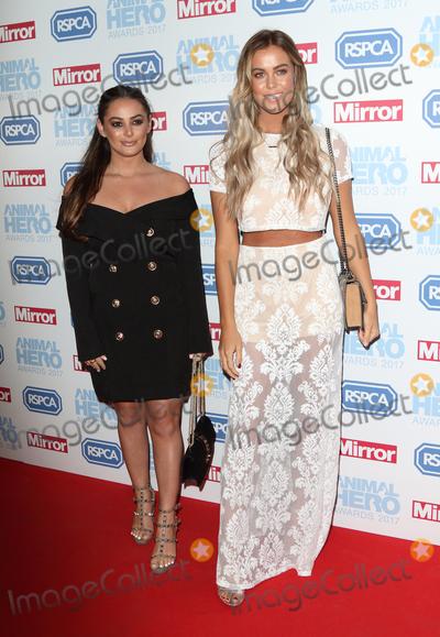 Courtney Green Photo - LondonUK Courtney Green and Chloe Meadows  at the Daily Mirror and RSPCA Animal Hero Awards at Grosvenor House Park Lane London 7th September 2017RefLMK73-S666-080917Keith MayhewLandmark MediaWWWLMKMEDIACOM