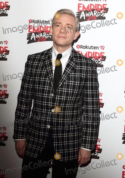 Martin Freeman Photo - London UK Martin Freeman at Rakuten TV Empire Awards held at the Roundhouse Chalk Farm Camden London on March 18th 2018Ref LMK73-J1750-190318Keith MayhewLandmark MediaWWWLMKMEDIACOM