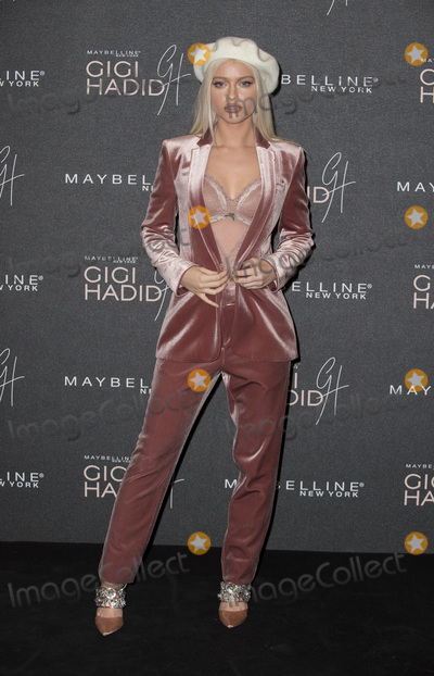 Alice Chater Photo - London UK Alice Chater at  the Gigi Hadid X Maybelline party held at Hotel Gigi on November 7 2017 in London EnglandRef LMK386-J1094-081117Gary MitchellLandmark MediaWWWLMKMEDIACOM