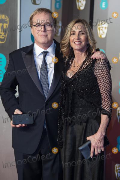 Brad Bird Photo - London UK  Brad Bird and Elizabeth Canney  at EE British Academy Film Awards at the Royal Albert Hall Kensington London on Sunday February 10th 2019Ref LMK386-S2120-110219Gary MitchellLandmark Media WWWLMKMEDIACOM