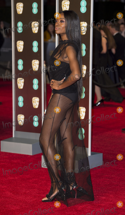 Aj Odudu Photo - London UK AJ Odudu at EE British Academy Film Awards 2018 - Red Carpet Arrivals at the Royal Albert Hall London on Sunday February 18th 2018 Ref LMK386 -J1597-190218Gary MitchellLandmark Media WWWLMKMEDIACOM