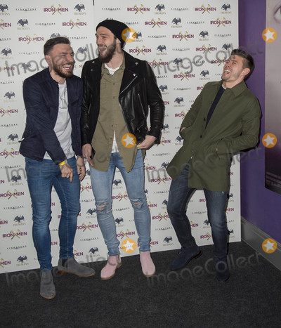 Genesis Photo - London UK Robert Snodgrass Andy Carroll and Aaron Cresswell  at  the UK Premiere of Iron Men at the Mile End Genesis Cinema on March 2nd 2017 in London EnglandRef LMK386-63058-030317Gary MitchellLandmark Media WWWLMKMEDIACOM