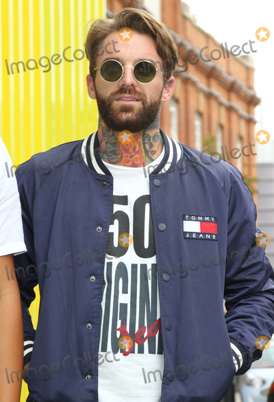 Aaron Chalmers Photo - LondonUK Aaron Chalmers  The Launch of the new series of Geordie Shore at MTV Studios followed by Chloe Ferry dressing up as a chicken to celebrate world record for eating chicken nuggets in Camden London UK on the 29th August 2017  RefLMK73-S626-300817Keith MayhewLandmark MediaWWWLMKMEDIACOM