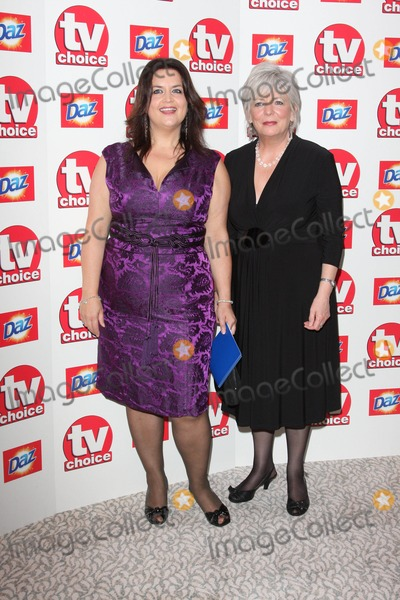 Alison Steadman Photo - London UK Ruth Jones and Alison Steadman at the TV Choice Awards 2010 held at The Dorchester Hotel Park Lane London 6th September 2010Keith MayhewLandmark Media