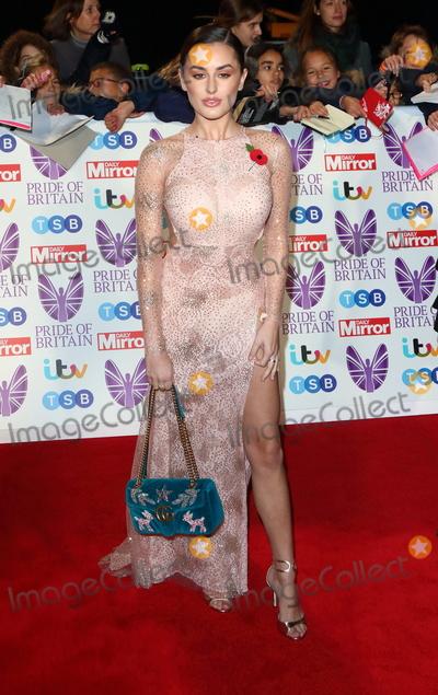 Amber Davies Photo - London UK Amber Davies at Pride of Britain Awards 2018 at the Grosvenor House Park Lane London on Monday 29 October 2018Ref LMK73-J2870-301018Keith Mayhew Landmark Media WWWLMKMEDIACOM  Georgia Toffolo