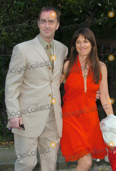 Angus Deayton Photo - London Angus Deayton and Lise Mayer at Sir David Frosts Annual Summer Party at Sir Davids Chelsea home6 July 2004