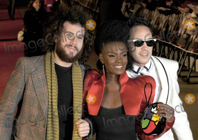 Noisettes Photo - London UK Jamie Morrison Shingai Shoniwa and Dan Smith of the Noisettes at the World Premiere of the film Nine held at the Odeon Leicester Square 3 December 2009 SydLandmark Media