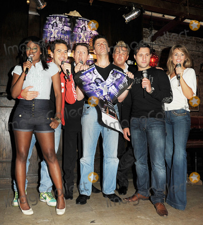 Anthony Kavanagh Photo - London UK Kelle Bryan Anthony Kavanagh Kevin Kennedy Andrew Monk (Simon Cowell lookalike not in show) Russ Spencer Anthony Costa and Suzanne Carleyl   posing at a photocall for The eXtra Factor a new interactive comedy musical at Salvador  Amanda in central London  21 August 2008Ali KadinskyLandmark Media