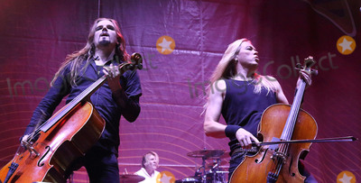 Apocalyptica Photo - London UK Apocalyptica  performing live at The first Stone Free Festival at the O2 Arena London on June 18th and 19th 2016Ref LMK73-60326-200616Keith MayhewLandmark Media WWWLMKMEDIACOM