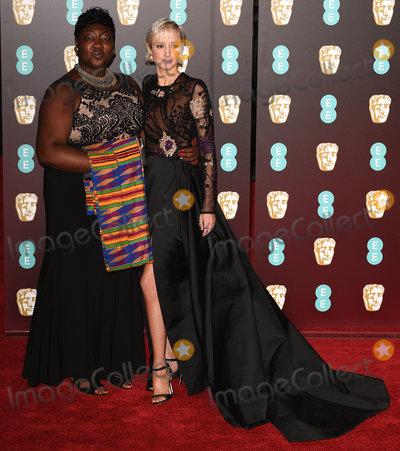Andrea Risborough Photo - London UK Phyll Opoku-Gyimah and Andrea Risborough at The EE British Academy Film Awards held at The Royal Albert Hall on Sunday 18 February 2018 Ref LMK392 -J1596-190218Vivienne VincentLandmark Media WWWLMKMEDIACOM