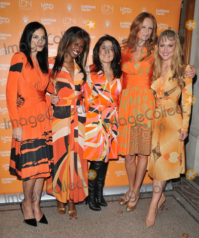The Unit Photo - London UK Yasmin Mills June Sarpong Daniella Helayel Olivia Inge  Camilla Kerslake at the United Nations Trust Fund Women United Dinner supported by the LDNY Foundation  Goldman Sachs National Portrait Gallery St Martins Place London UK on Monday 07 March 2016Ref LMK315-60062-090316CAN NGUYENLandmark MediaWWWLMKMEDIACOM