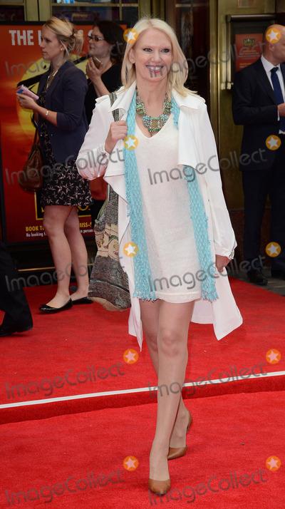 Anneka Rice Photo - London UK Anneka Rice at Miss Saigon Press Night at the Prince Edward Theatre London  May 21st 2014 Ref LMK392-48536-220514Vivienne VincentLandmark Media WWWLMKMEDIACOM