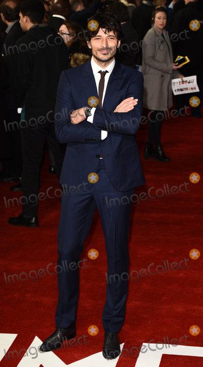 Andres Velencoso Photo - London UK Andres Velencoso at The Time Of Their Lives Premiere held at Curzon Mayfair Mayfair London on Wednesday 8 March 2017 Ref LMK392-63082-090317Vivienne VincentLandmark Media WWWLMKMEDIACOM