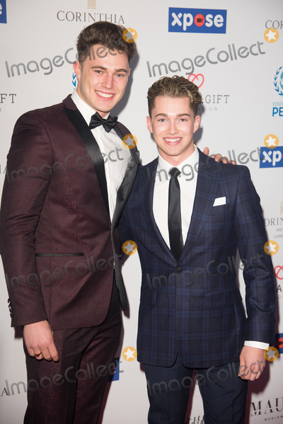 AJ Pritchard Photo - London UK Curtis Pritchard (L) and brother AJ Pritchard of Strictly Come Dancing  at the Football For Peace Initiative Dinner by Global Gift Foundation at Corinthia Hotel London England UK on Monday 8 April 2019 Ref LMK370-J4708-151116Justin NgLandmark MediaWWWLMKMEDIACOM