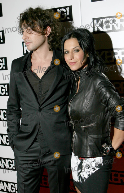 Alex Zane Photo - London UK Alex Zane and Cristina Scabbia )Lacuna Coil) at the Kerrang Awards 2008 hed at The Brewery in London 21st August 2008Taya UddinLandmark Media