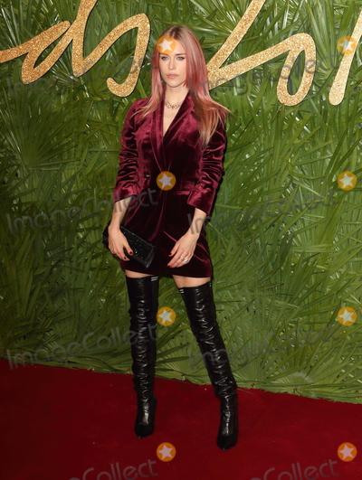 Mary Charteris Photo - London UK Mary Charteris at The Fashion Awards 2017 at the Royal Albert Hall Kensington Gore London on Monday 4 December 2017Ref LMK73-J1249-051217Keith MayhewLandmark Media WWWLMKMEDIACOM