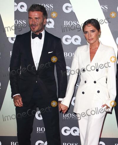 David Beckham Photo - London UK David Beckham Victoria Beckham  at GQ Men of the Year Awards held at the Tate Modern Bankside London on September 3rd 2019Ref LMK73-J5391-040919Keith MayhewLandmark MediaWWWLMKMEDIACOM
