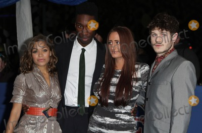 Nathan Stewart-Jarrett Photo - London UK   Anthia ThomasNathan Stewart-Jarrett Lauren Socha and Iwan Rheon  at the 2011 British Comedy Awards Indigo 02 Arena 22nd January 2011 Evil ImagesLandmark Media
