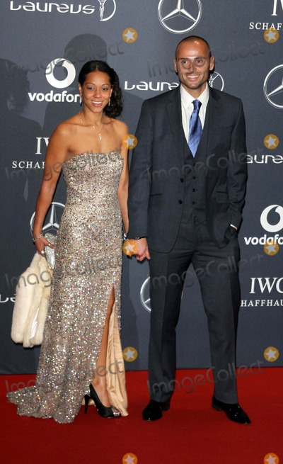 Andy Turner Photo - London UK  Andy Turner and guest      at the Laureus World Sports Awards held at the Queen Elizabeth II Centre Westminster London 6th February  2012   Keith MayhewLandmark Media  EXCEPT GERMANY AUSTRIA AND SWITZERLAND