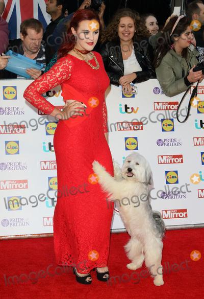 Ashleigh Butler Photo - London UK Ashleigh Butler and Pudsey at Pride of Britain Awards 2015 held at the Grosvenor House Hotel London on September 28th 2015Ref LMK73 -58302-290915Keith MayhewLandmark Media WWWLMKMEDIACOM