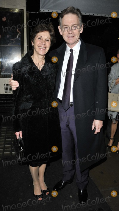 Anthony Andrews Photo - London UK Anthony Andrews and guest at the The Lion In Winter press night Theatre Royal Haymarket London England 15th November 2011Can NguyenLandmark Media