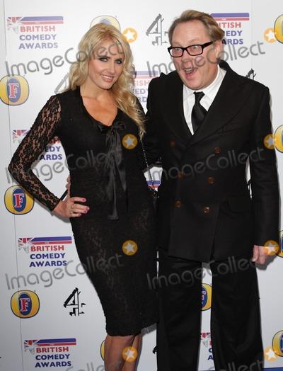 Nancy Sorell Photo - London UK Nancy Sorell and Vic Reeves at the 2011 British Comedy Awards Indigo 02 Arena 22nd January 2011 Evil ImagesLandmark Media