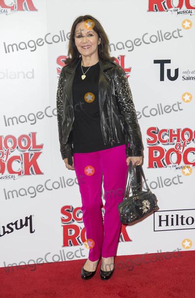 Arlene Phillips Photo - London UK Arlene Phillips at the opening Night of School Of Rock The Musical at The New London Theatre Drury Lane  in London England on November 14 2016Ref LMK386-61277-151116Gary MitchellLandmark MediaWWWLMKMEDIACOM