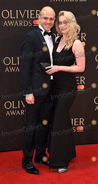 Emma Williams Photo - London UK James Newton and Emma Williams at The Olivier Awards 2018 held at The Royal Albert Hall Kensington Gore South Kensington London on Sunday 8 April 2018Ref LMK392-J1860-090418Vivienne VincentLandmark Media WWWLMKMEDIACOM
